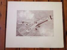 Morane N Bullet WWI Airplane Phillips Historical Aviation Series Art Print