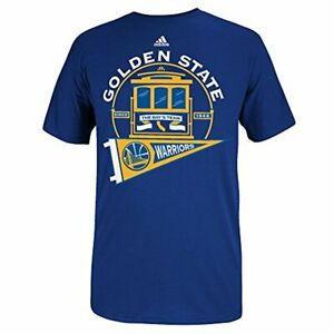 Adidas NBA Men's Golden State Warriors The Bay's Team S/Go-To Tee