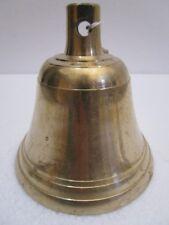 BRASS Bell - Marine / Religion / Spiritual - FREE SHIPPING (1778)