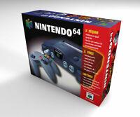 Caja vacia Nintendo 64 (versión española) (no incluye la consola) | empty box