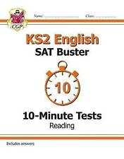 KS2 English SAT Buster: 10-Minute Tests - Reading by CGP Books | Paperback Book