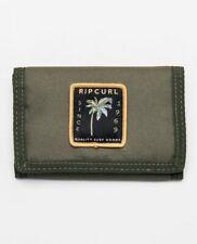 Rip Curl Trifold Wallet ~ Badge Surf dark olive
