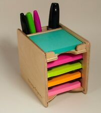 Sticky Notes Post-it Pad and Pen Holder (Note Pads NOT Included)