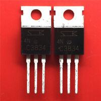 New Original! 5PCS SEC 2SC3834 TO-220 Silicon NPN Triple Diffused Planar