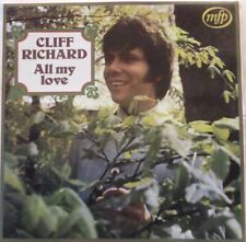 CLIFF RICHARD - All My Love ~ VINYL LP
