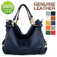 New GENUINE LEATHER purse handbag Hobo TOTE SHOULDER Bag [WB1059]