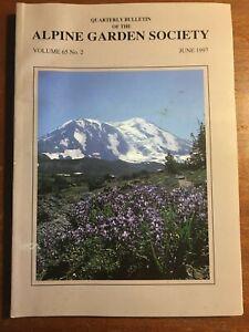 QUARTERLY BULLETIN OF THE ALPINE GARDEN SOCIETY JUNE 1997 VOLUME 65 NO.2