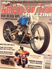 American Iron Magazine RSD Black Ops No.317 December 2014 112817nonrh