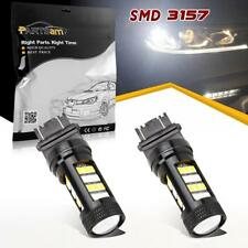 2pcs 3157 4114 42-Epistar-2835-LED Switchback White Amber LED OEM Replace