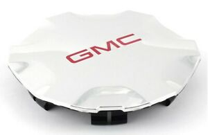 🔥Genuine GM NEW Wheel Hub Center Cap Chrome with Red GMC Logo for Envoy🔥