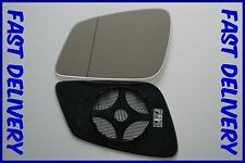 Bmw 5 Gran Turismo F07 2009+ Direct Wing Mirror Glass Wide Angle Heated Left H/S