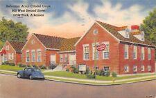 Little Rock Arkansas 1940s Postcard Salvation Army Citadel Corps