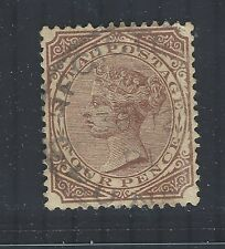 South Africa - Natal QV 1882-89 sg102 Used (wmk Crown CA)