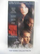 A Time To Kill  Sandra Bullock, Matthew McConaughey    VHS Movie   Like New