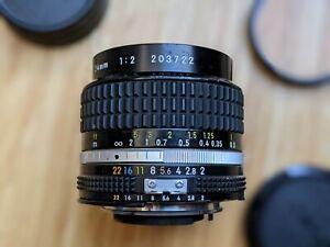 Nikon Nikkor 24mm F2 Manual Lens