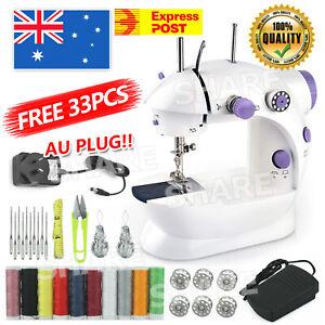 Electric Sewing Machine Mini Multi-Function Portable Hand held Desktop Home AU