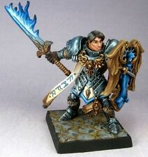 Almaran the Gold Paladin Reaper Miniatures Dark Heaven Legends Fighter Melee