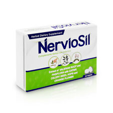 NERVIOSIL HERBAL SUPPLEMENT VALERIAN ROOT & PASSION FLOWER-VALERIANA Y PASIFLORA