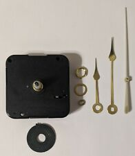 Quartex Quarts Clock Movement, Complete Clock Kit With All Pieces Needed!