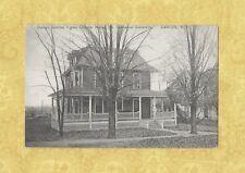 NY Canton 1912 postcard OGS Omega Gamma Sigma House St. Lawrence University