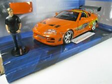 TOYOTA SUPRA FAST AND FURIOUS WITH BRIAN FIGURE 1/24 JADA TOYS