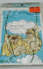 Vintage 1983 Lucasfilm Ltd.  Animated Ewoks Return of the Jedi  Party bags
