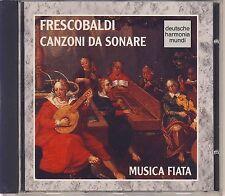 Girolamo Frescobaldi  - Wilson, Musica Fiata: Canzoni da Sonare (DHM) Like New
