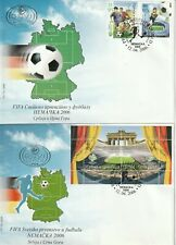 More details for yugoslavia 12 april 2006 world cup germany 2006 set on 2 first day covers shs