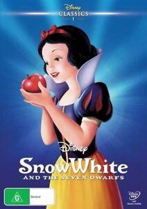 Disney Snow White And The Seven Dwarfs (DVD 2014)
