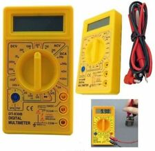 DIGITAL LCD MULTIMETER VOLTMETER AMMETER OHM AC DC CIRCUIT CHECKER TESTER NEW