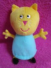 "Fisher Price Peppa Pig Candy Cat Plush 8"" 2012"