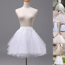 Flower Girl Dress Kid Children Underskirt Wedding Crinoline Petticoat Tutu Skirt