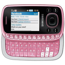 Samsung GT-B3310 Sweet Pink - (without Sim - Lock) QWERTY Keyboard - New - Nuovo