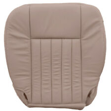 2005-2006 Lincoln Navigator Driver Bottom Leather Cover - Camel Tan