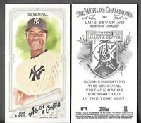 Luis Severino 2018 Topps Allen & Ginter A&G BACK MINI Yankees #148