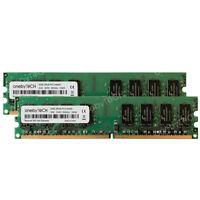 4GB 2X2GB PC2-6400 DDR2 800MHz 240pin DIMM For HP Compaq dx2400 Business Desktop