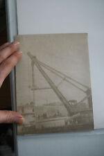 HMS Victoria ORIG albumen photo de travaux pour s'adapter Front tourelle V RARE IMAGE 1890