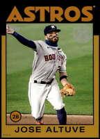 Jose Altuve 2021 Topps 5x7 1986 Baseball 35th Anniversary Gold #86B-24 /10 Astro