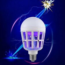 Fad 15W LED Anti Mosquito Light Bulb Lamp Flying Insects Moths Killer Delicate
