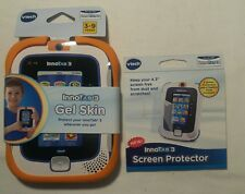 VTech InnoTab 3 Gel Skin Orange w/ Two Screen Protectors and Cleaning Cloth