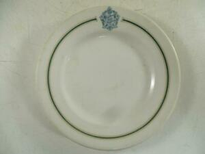 Antique Republican House Hotel Milwaukee WI Bread Plate Restaurant Ware Vintage