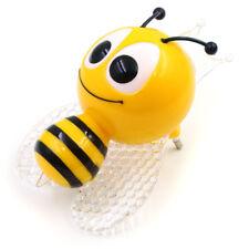 EU Plug Kids Gifts Wall Lamp Light-operated LED Insect Bee Night Light