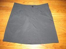 Patagonia Womens Size 8 Black Active Golf Tennis Skirt Skort