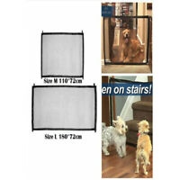 Pet Dog Cat Guard Mesh Fence Net Portable Foldable Safety Magic Gate Guard Mesh