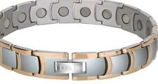 Men's Magnet Bracelet Therapy Titanium Relief Pain Anxiety w Adjusting Tool