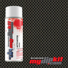 Hydrographics Activator Amp Water Transfer Film Combo Black Amp Silver Carbon Cf 020
