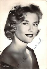 D'Apres Photo Sam Levin Nicole Courcel, French actress autograph