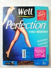 WELL PERFECTION COLLANT VOILE RESISTANT 17 DEN TAILLE 3 COULEUR IBIZA