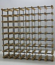 72 Bottle Borders Timber Wine Rack 1000's SOLD  throughout Australia 100% Aussie