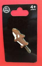 SeaWorld Shamu Ice Cream Bar Pin New On Card